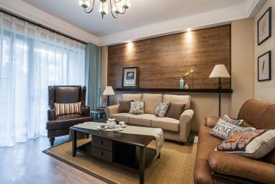 【混搭】三室两厅现代和美式的混搭
