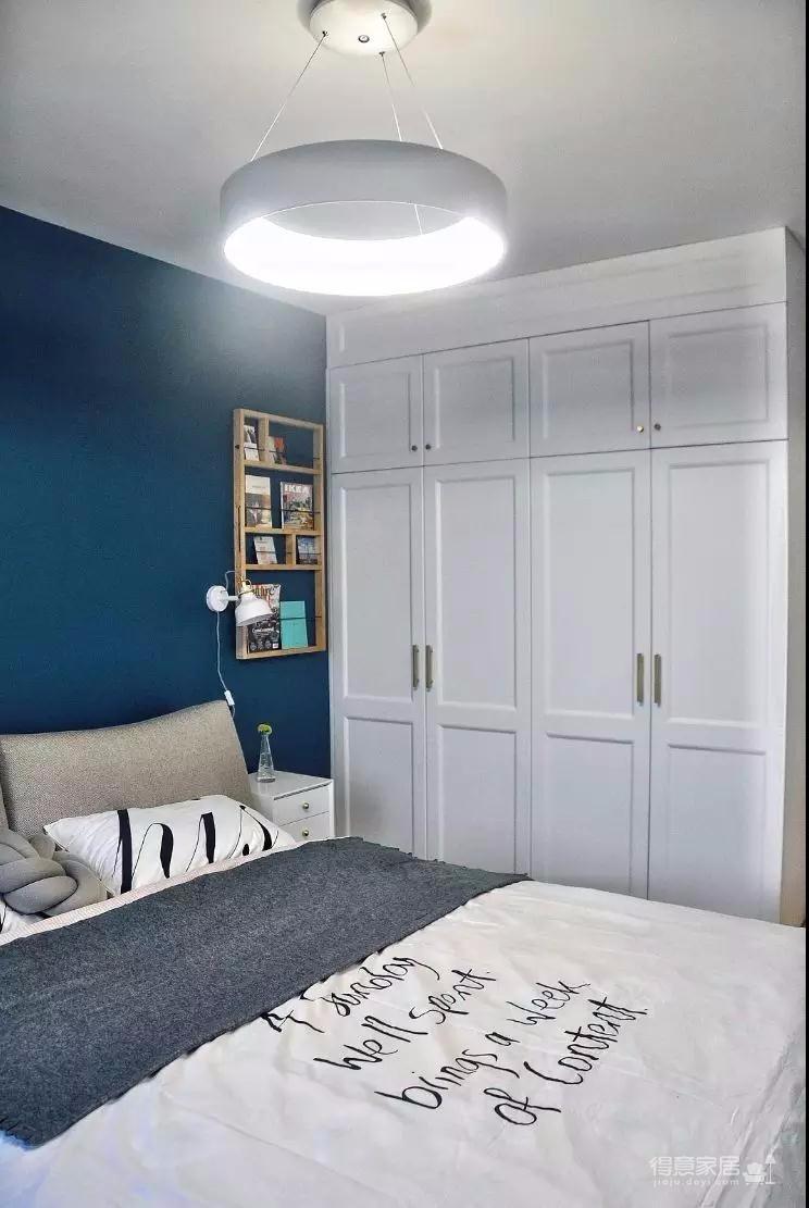 一室一厅北欧风,1㎡工作区+1㎡阅读区,通透敞亮,越看越大