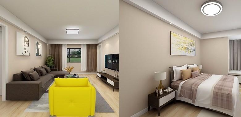 109平现代三居室,甜到发腻、鲜艳梦幻的马卡龙色,也能成为高级装修的典范。