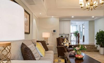 今日家园--120㎡现代美式三居设计