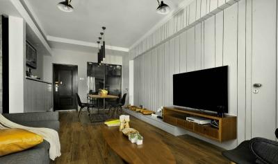三室一厅现代风