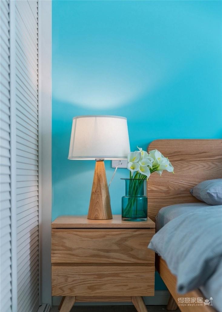 蓝·颜 ——86㎡北欧三室一厅