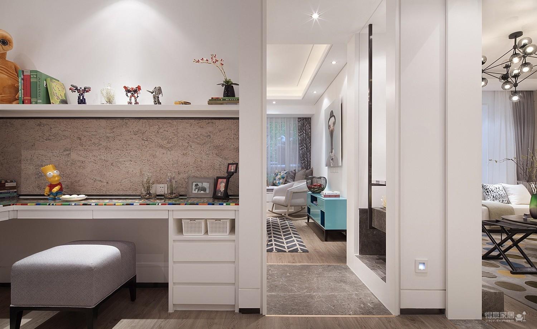 三室一厅简约风格