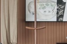 疏影--138㎡清新淡雅新中式二居设计图_8