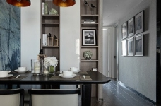 现代简约风三居室,温暖惬意的休闲空间图_7