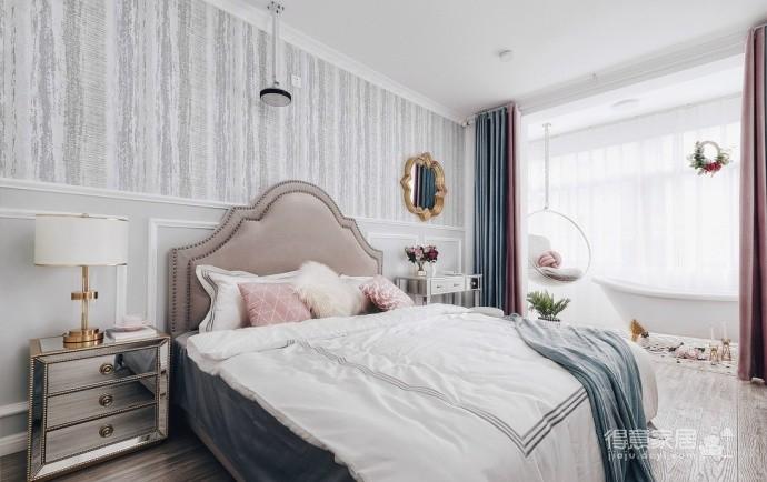 精致优雅的气质,85平现代美式二居室,美呆了~图_4