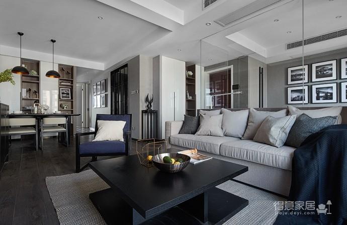 现代简约风三居室,温暖惬意的休闲空间图_5