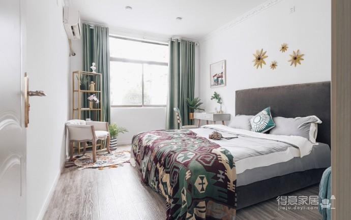 精致优雅的气质,85平现代美式二居室,美呆了~图_3