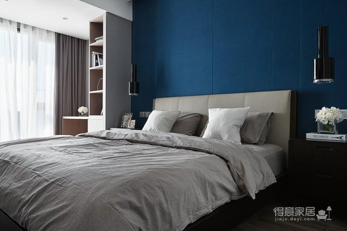 现代简约风三居室,温暖惬意的休闲空间图_6