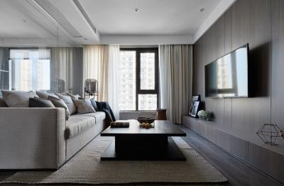 现代简约风三居室,温暖惬意的休闲空间