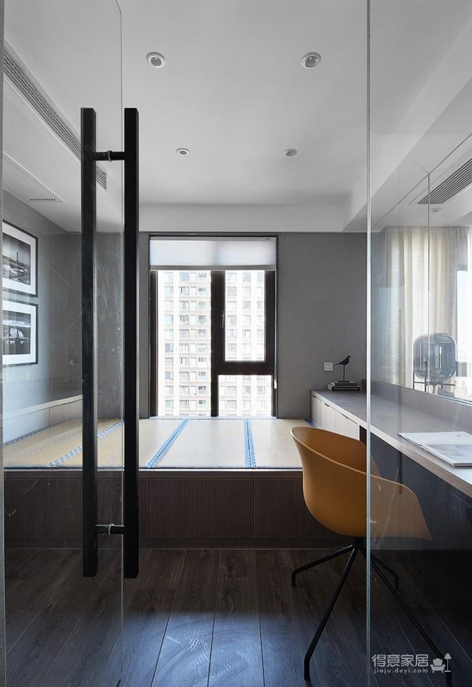 现代简约风三居室,温暖惬意的休闲空间图_9