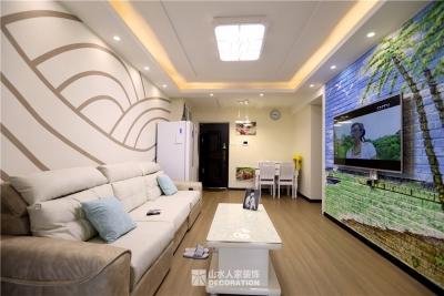 【紫云府】74平两室一厅现代简约风格