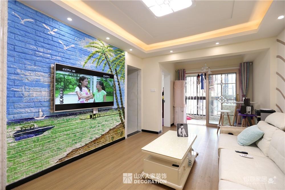 【紫云府】74平两室一厅现代简约风格图_5