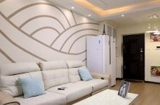 【紫云府】74平两室一厅现代简约风格图_4
