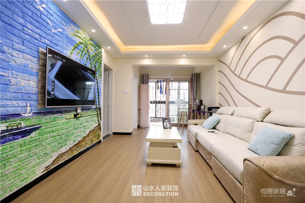 【紫云府】74平两室一厅现代简约风格图_6