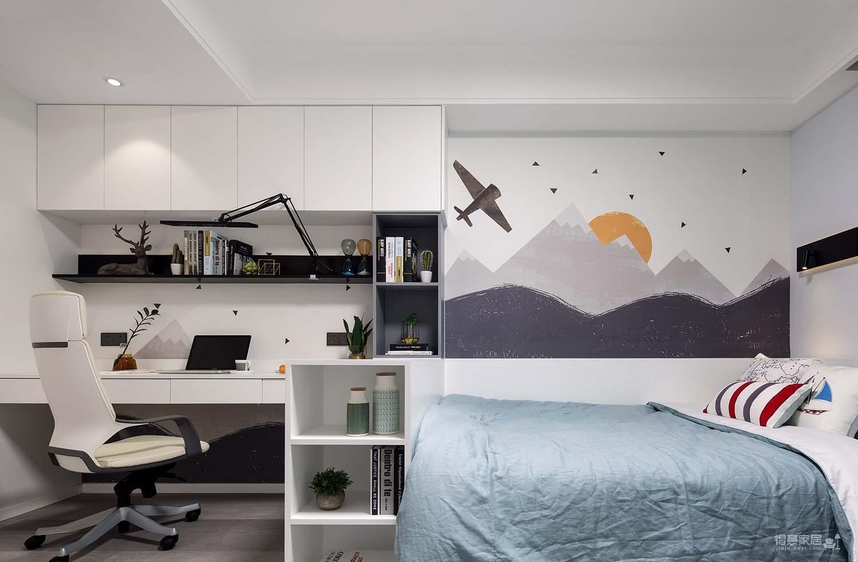 三室一厅慵懒家居风