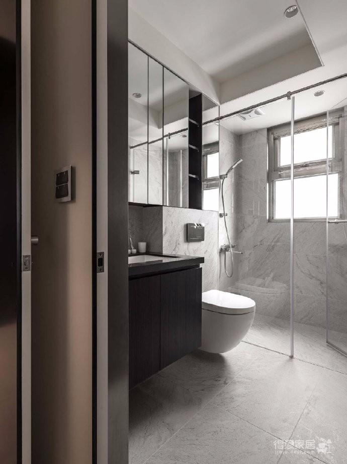台式现代风格家居装修设计,简介干练又格调!