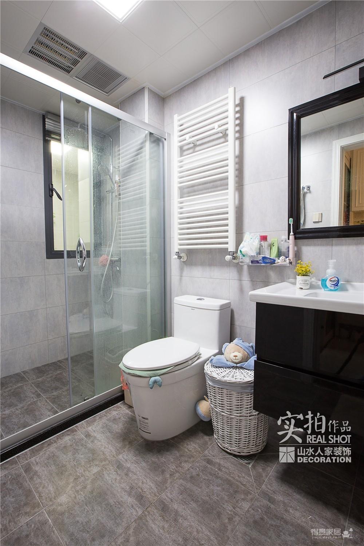 【国际城】110平轻奢三室两厅装修