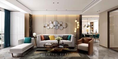 轻奢精致的时尚居住空间---华润中央公园原创赏析