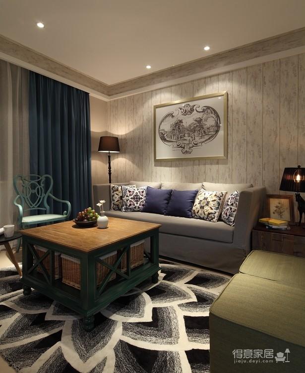 三室两厅美式风格图_6