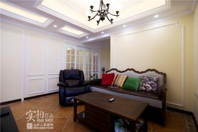 【海昌天澜】128平三室两厅美式装修风格