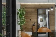 黑色和灰色打造的现代住宅设计图_3