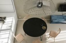 光线充足的简约优雅Loft住宅设计图_1