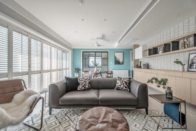 三室两厅北欧风日式家具