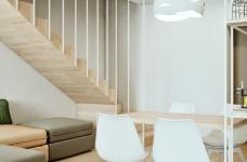 轻透木质北欧风双人公寓图_4
