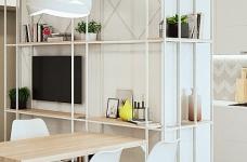 轻透木质北欧风双人公寓图_5