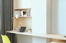 轻透木质北欧风双人公寓图_7