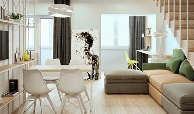 轻透木质北欧风双人公寓