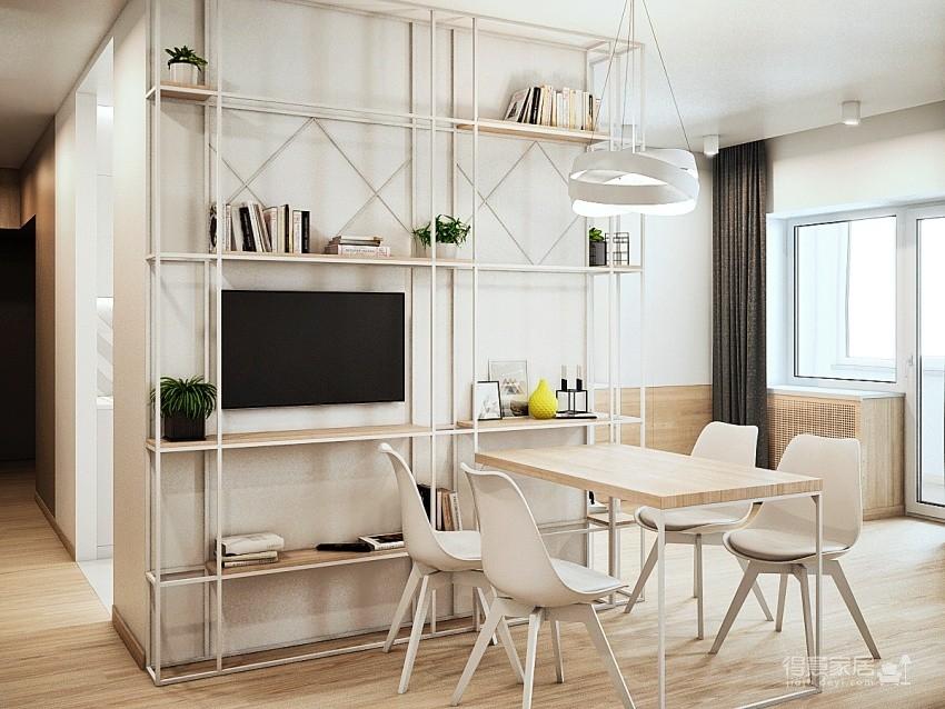 轻透木质北欧风双人公寓图_3