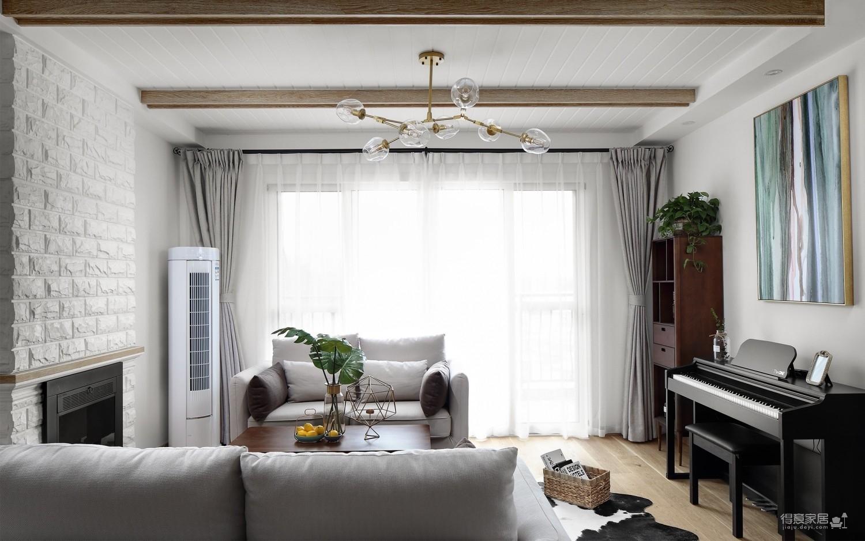 绿植三室一厅简约风