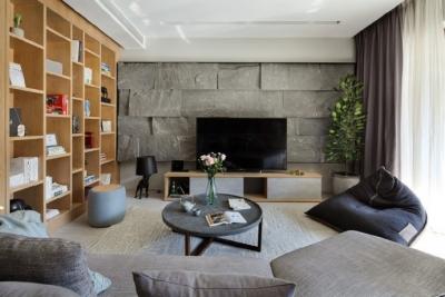 100㎡现代风格家居装修,