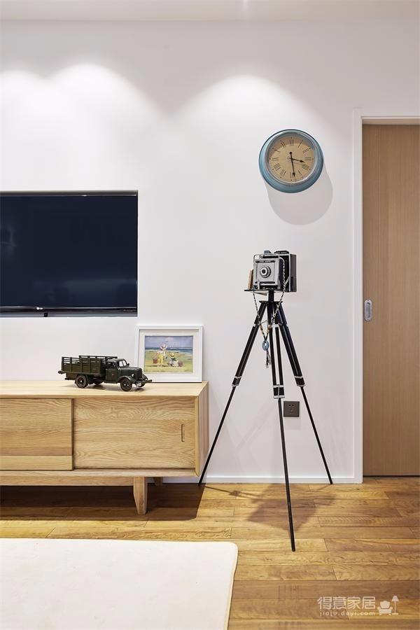 两室一厅现代精简风图_3