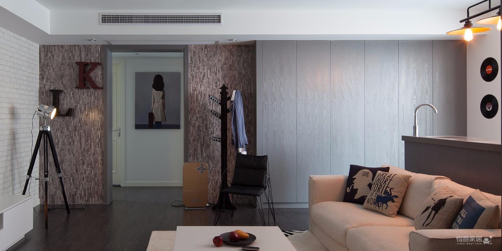 两室一厅工业风精装房