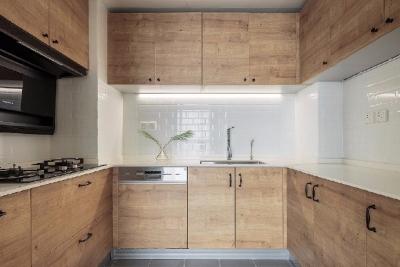 简约北欧风三居室装修案例,温馨的暖色调让人心安!