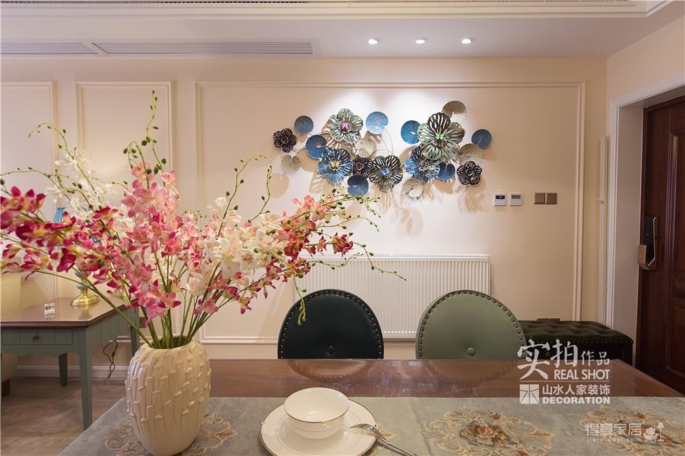 【瑞云居】116平美式混搭三室装饰效果图_10