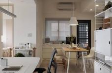 现代风格白色公寓图_12
