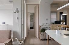 现代风格白色公寓图_7