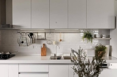 现代风格白色公寓图_11