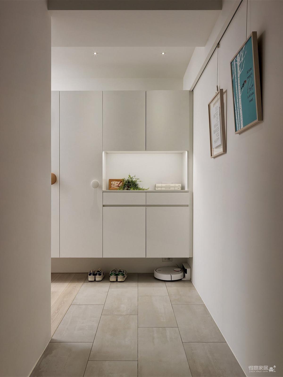 现代风格白色公寓图_13