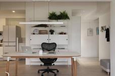 现代风格白色公寓图_4