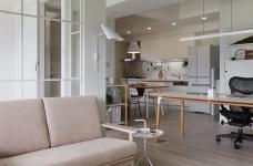 现代风格白色公寓图_8