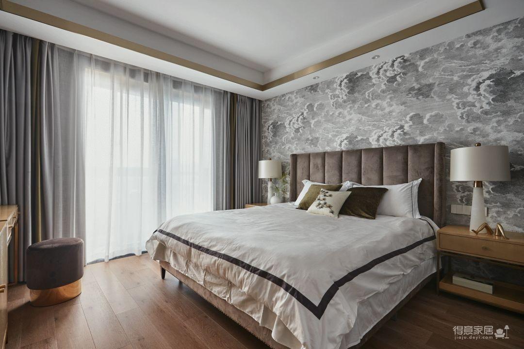 新中式雅致家装设计图_4