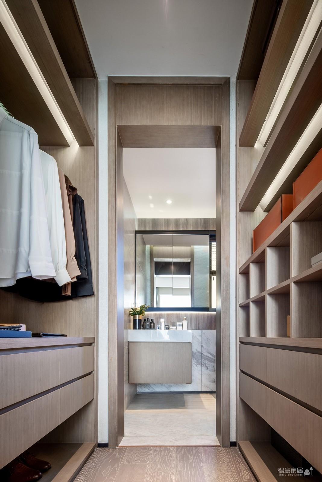 100㎡现代风家庭公寓图_10