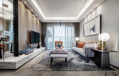 100㎡现代风家庭公寓