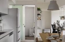 现代风格白色公寓图_6