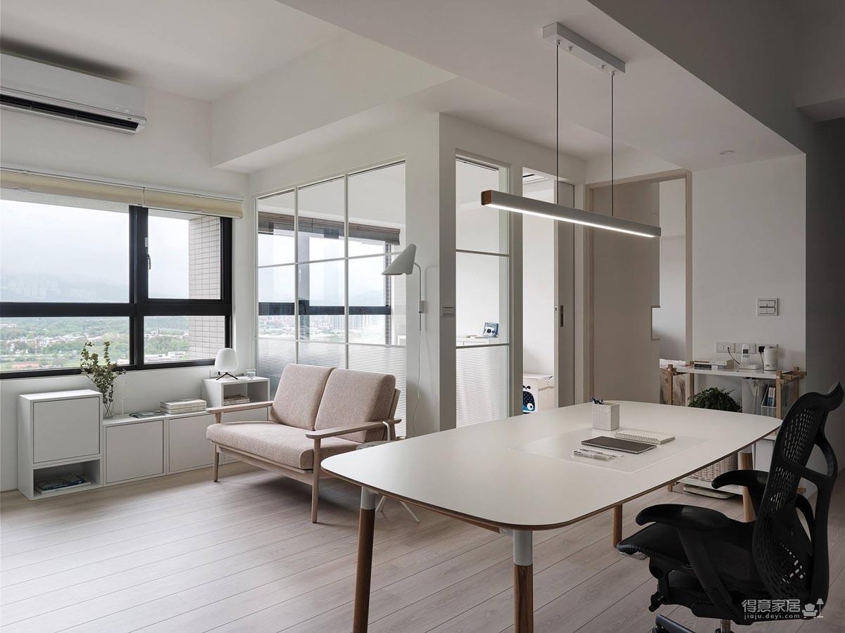 现代风格白色公寓图_10